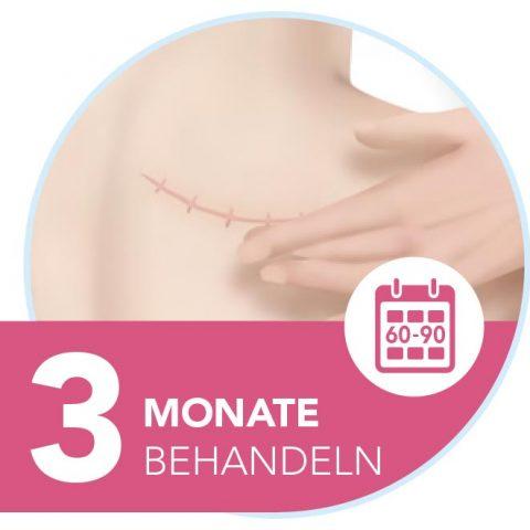 Narbenpflege: 3 Monate Narbengel anwenden
